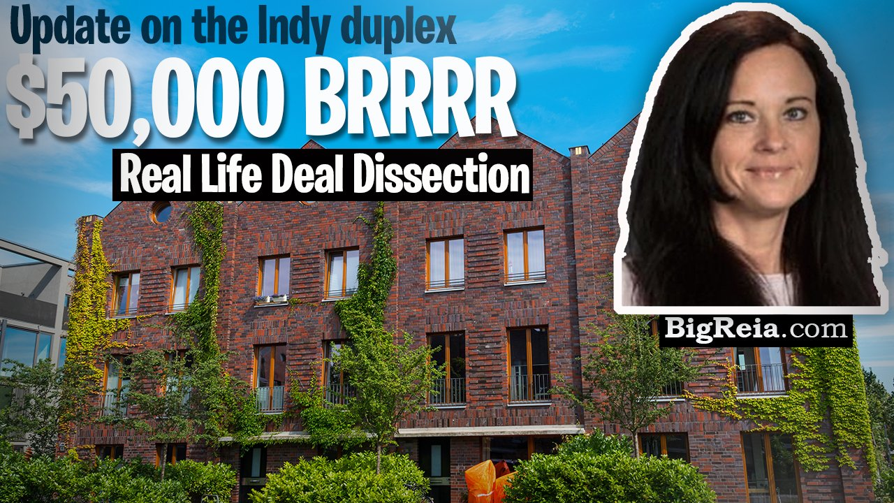 Indy remote turnkey investors: update on the 50k BRRRR deal, real life example of an Indiana rental duplex deal