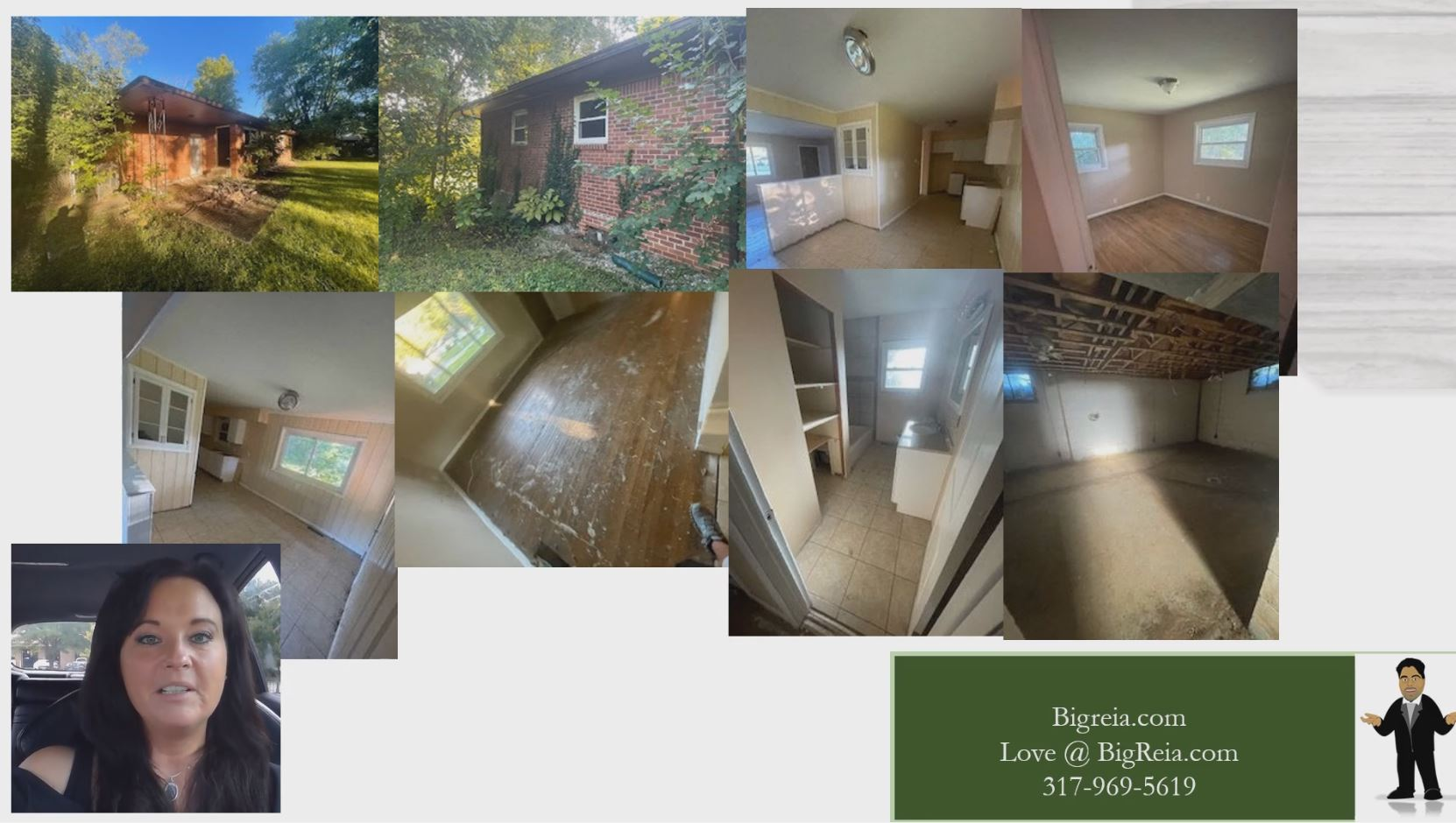 Indy buy and hold or flip rehab before pictures - BigReia.com