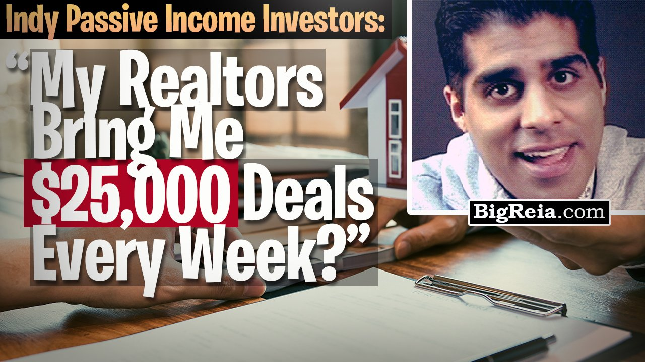 Indy real estate investors: how to close super fast and get realtors to bring you 25k deals for free