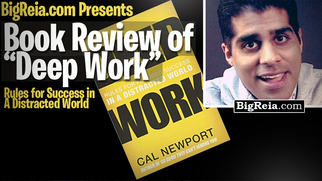 Book review of Deep Work, books for real estate investors – one page book summaries the best lessons